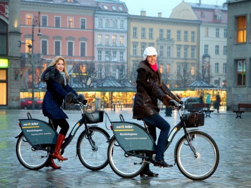 Obserwowano  inwazję cyklistów