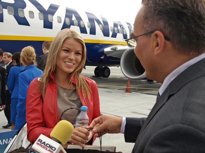 4 mln pasażerów Ryanaira weWrocławiu