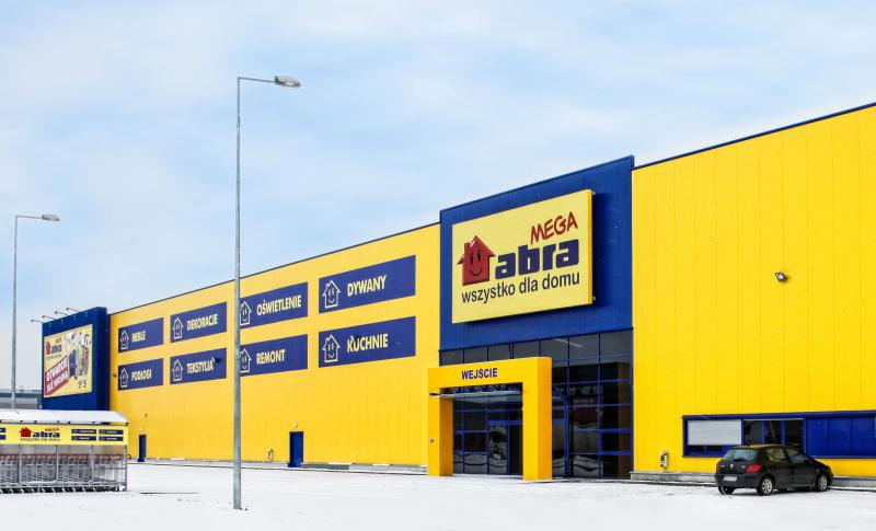 Otwarcie sklepu Mega Abra
