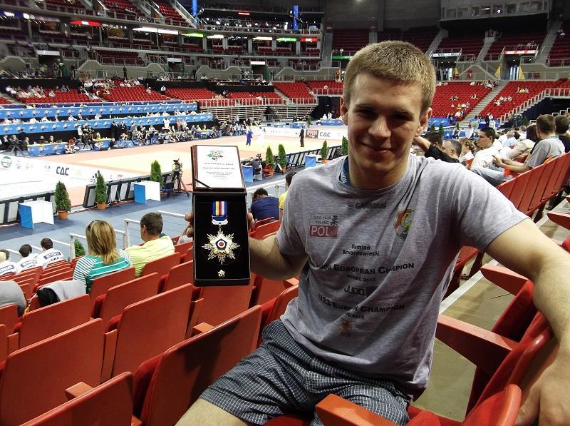Wyróżnienie dla wrocławskiego judoki