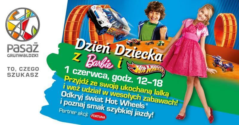 Dzień Dziecka zBarbie iHot Wheels
