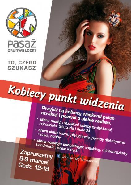 Weekend dla Pań wPasażu Grunwaldzkim