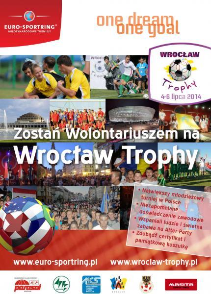 Zostań Wolontariuszem na Wrocław Trophy