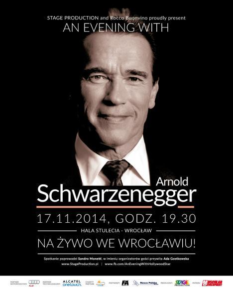 Arnold Schwarzenegger weWrocławiu