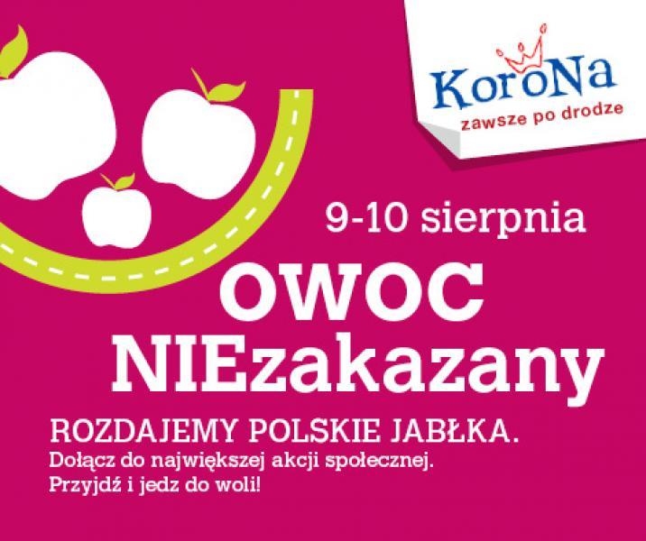 Centrum Korona wspiera polskie jabłka