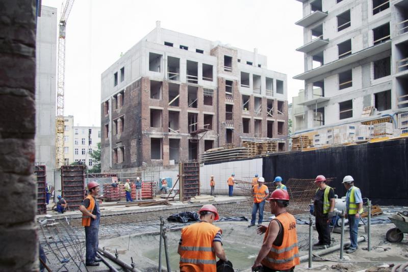 Trwa budowa wrocławskich loftów