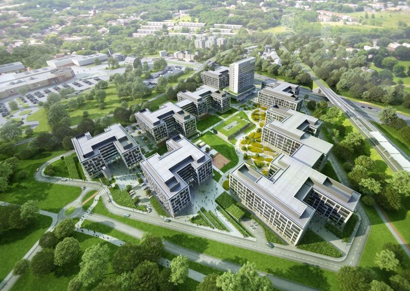 Wykonawca Business Garden Wrocław wybrany