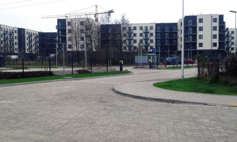 Dwie ulice na Krzykach znową nawierzchnią