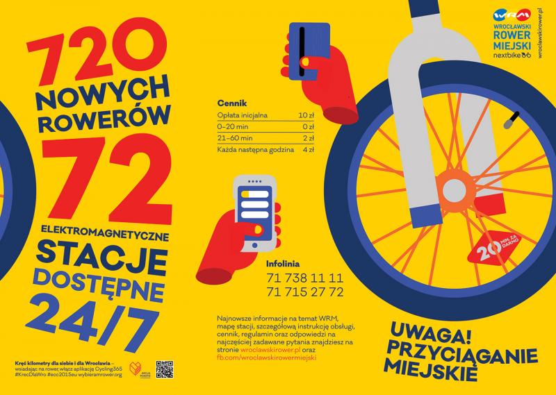 Nowy Wrocławski Rower Miejski – jak korzystać?