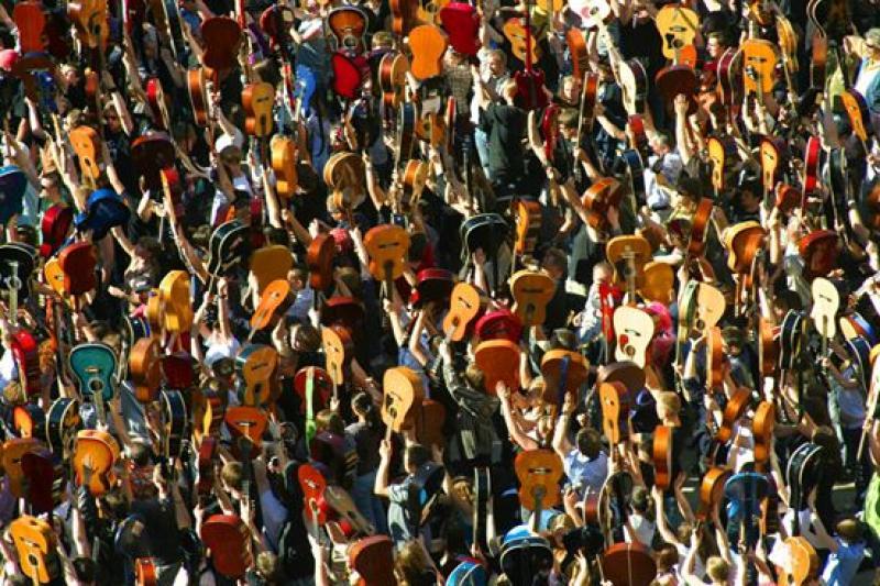 Tysiące gitarzystów weWrocławiu. Czy padnie rekord?