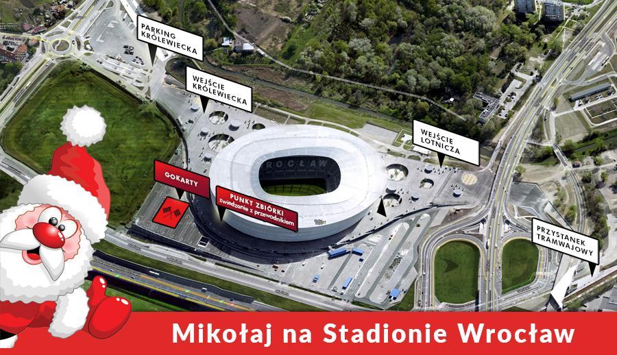 Św. Mikołaj na Stadionie Wrocław