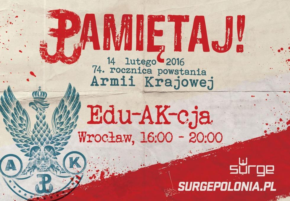 14 lutego edu-AK-cja weWrocławiu