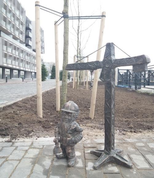 Nowy wrocławski Krasnal stanął przy ATAL Towers