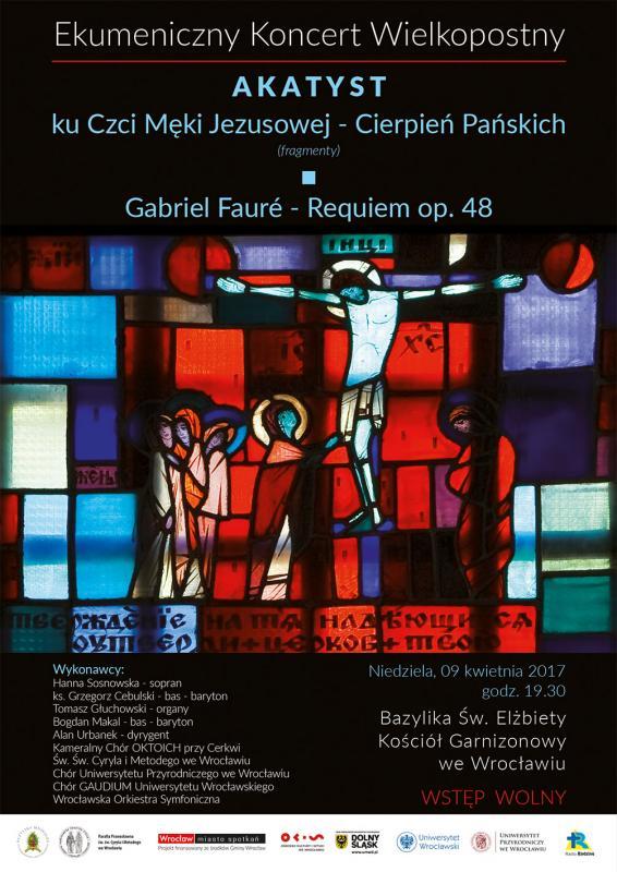 Przyjdź na Ekumeniczny Koncert Wielkopostny