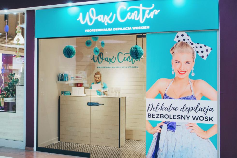 CH Arkady Wrocławskie - otwarcie Wax Center