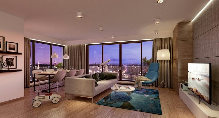 Boom na apartamenty nad rzeką