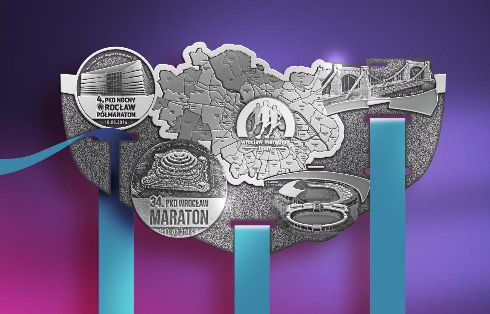 Jakie medale wrocławskich maratonów