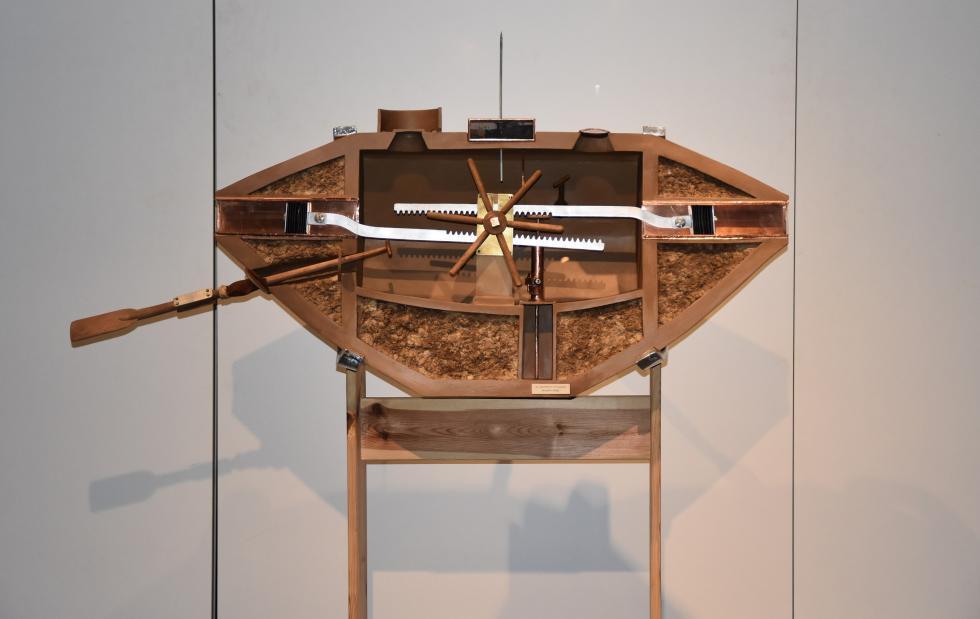 Wystawa poświęcona podwodnym statkom przycumowała doHydropolis