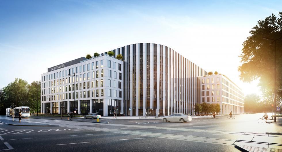 Echo Investment sprzedaje wrocławski biurowiec Sagittarius Business House