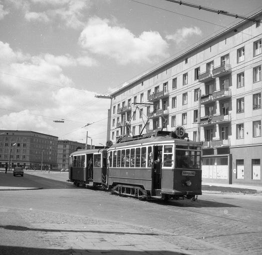 Sępolno, Zalesie iKrzyki... Historia tramwajów weWrocławiu