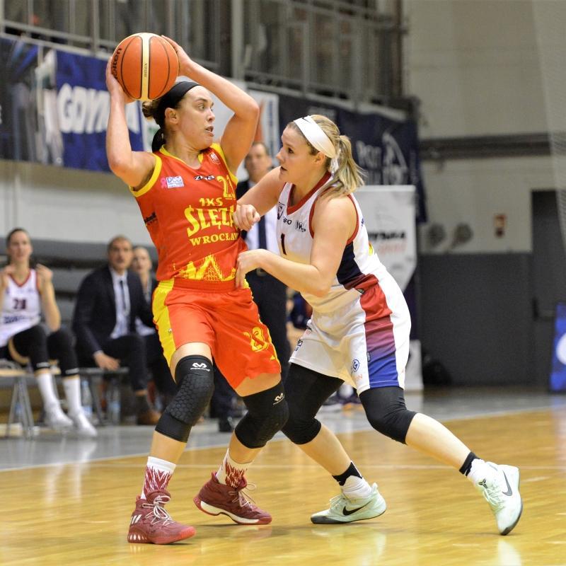 Basket 90 Gdynia pokonany, kolejne ważne zwycięstwo Ślęzy Wrocław