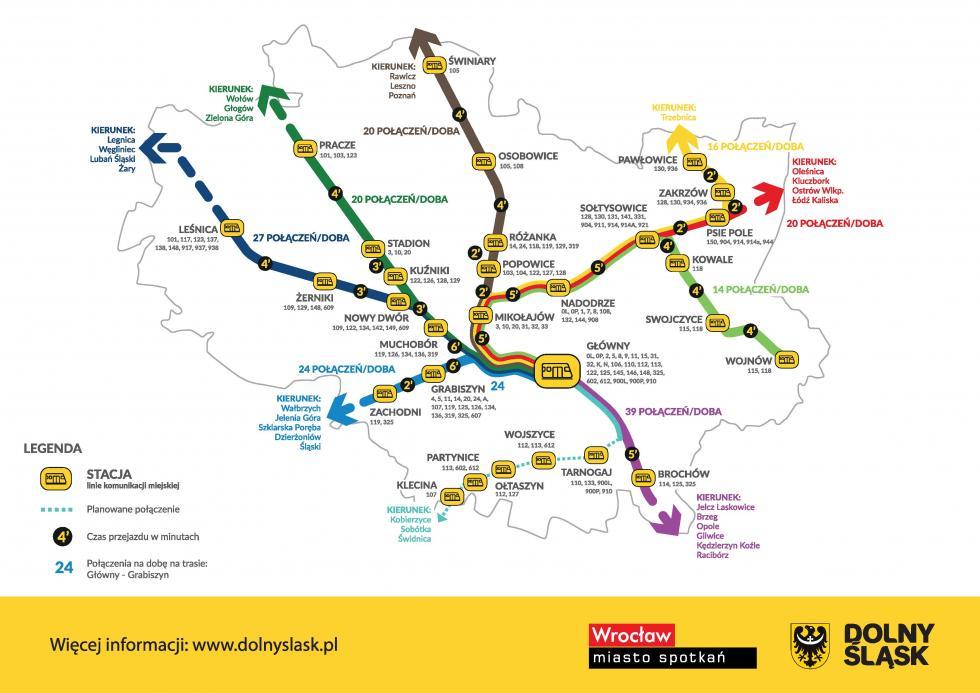 Więcej połączeń kolejowych na Dolnym Śląsku