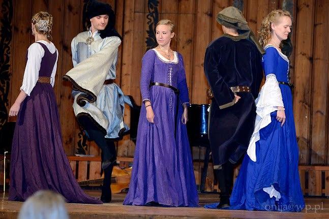 Warsztaty tańca sprzed 500 lat
