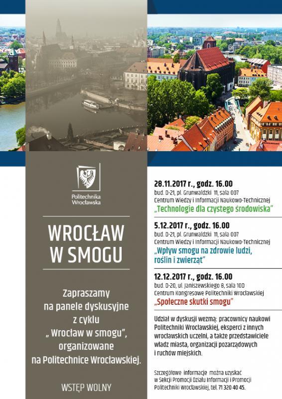 """""""Wrocław wsmogu"""" – cykl debat na Politechnice Wrocławskiej"""