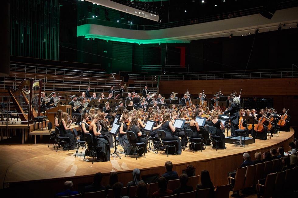 Koncert Akademickiej Orkiestry Symfonicznej AMKL