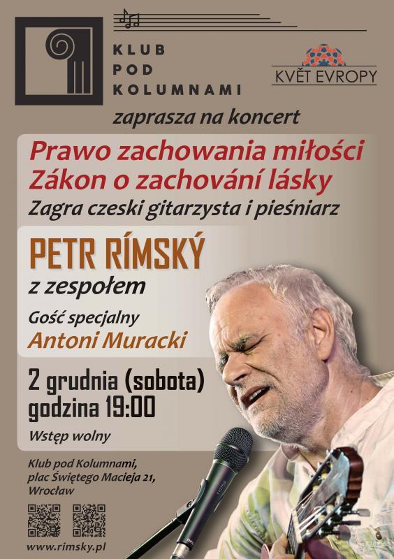 Rímský-Muracki, polsko-czeski duet wKlubie Pod Kolumnami