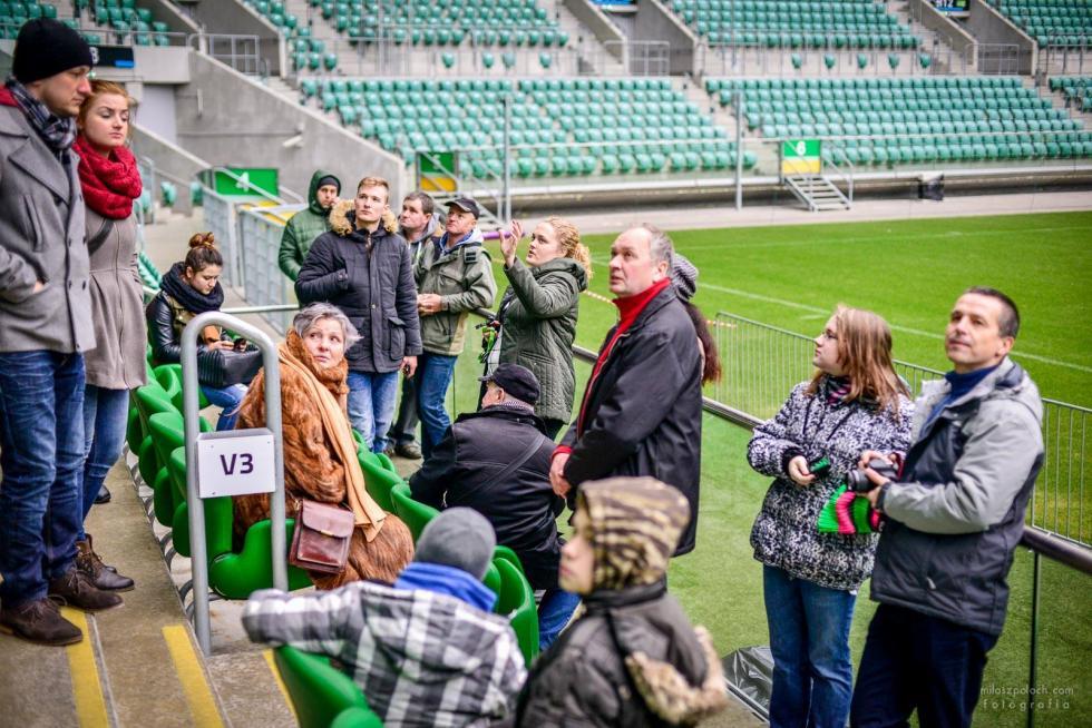 Dzień Babci iDzień Dziadka na Stadionie Wrocław - zwiedzanie zprzewodnikiem
