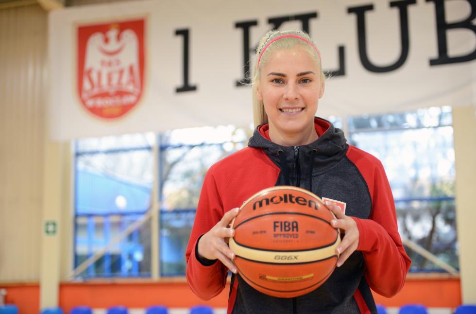Elina Dikeoulakou koszykarką Ślęzy Wrocław – przeczytaj rozmowę