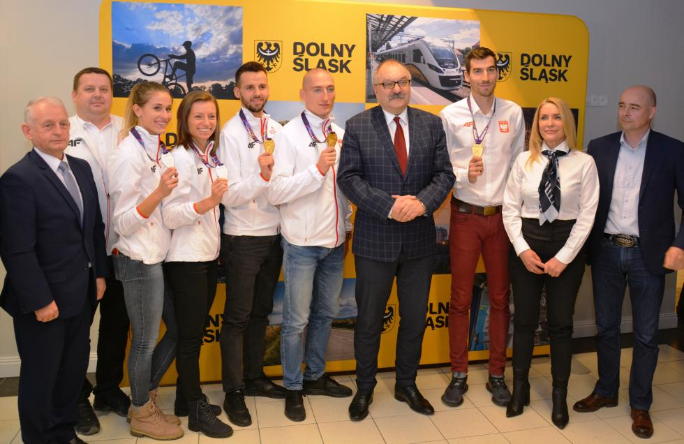Dolny Śląsk nagradza swoich mistrzów świata