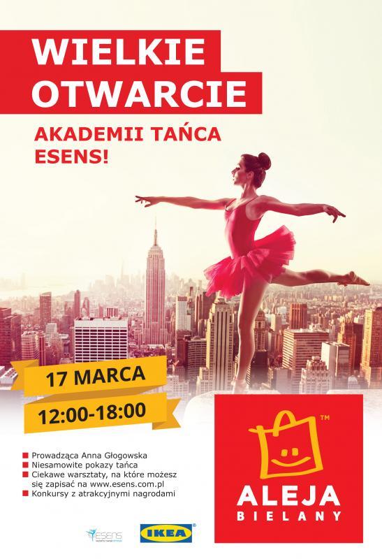 Otwarcie szkoły tańca ESENS wAlei Bielany
