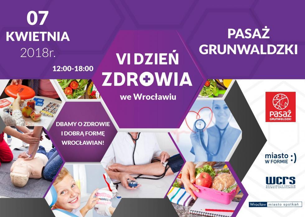 Dzień Zdrowia czyli najzdrowsze wydarzenie weWrocławiu