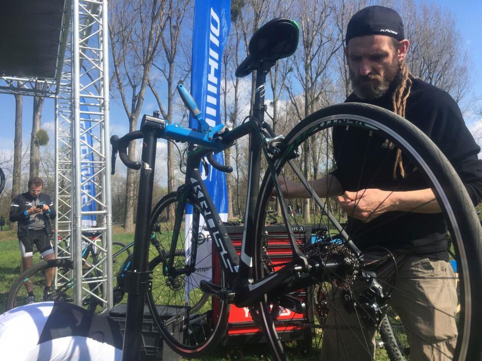 Oficjalne rozpoczęcie sezonu. Wrocławianie testowali nowoczesne rowery