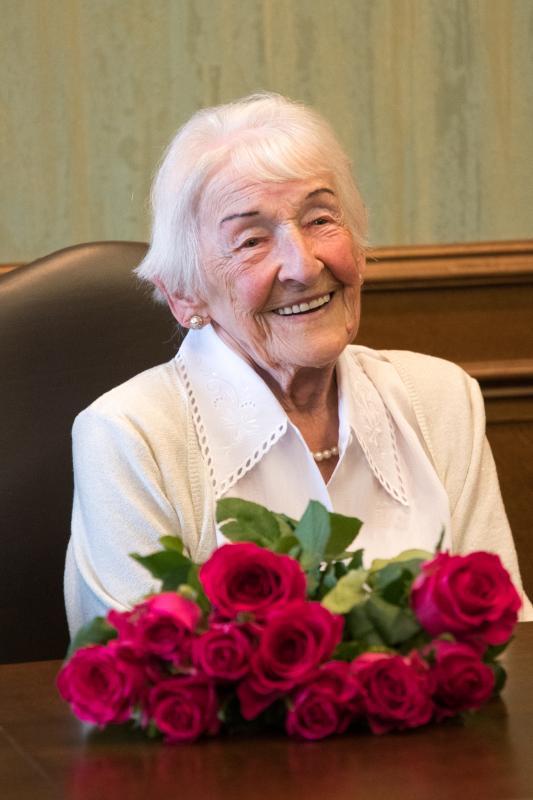 Elżbieta Neumann otrzymała medal