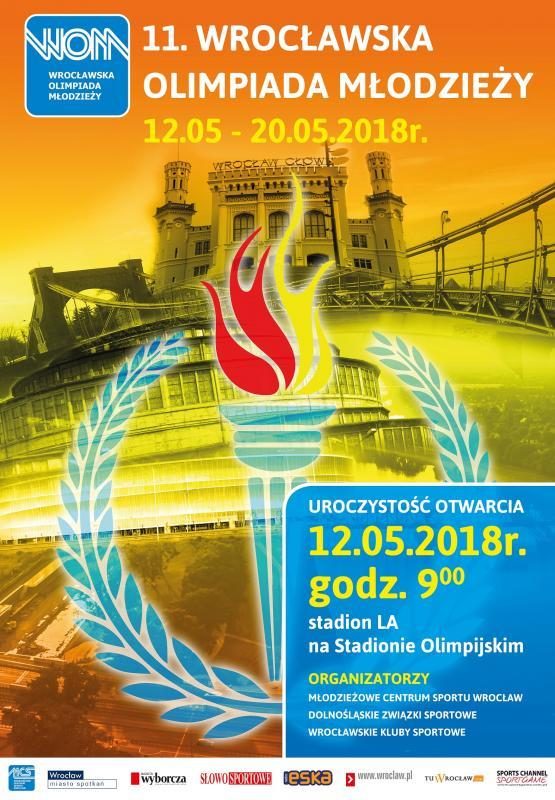 Trzy tysiące sportowców w11. Wrocławskiej Olimpiadzie Młodzieży