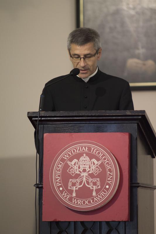 Nowy-stary Rektor Papieskiego Wydziału Teologicznego weWrocławiu