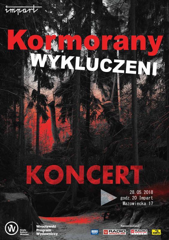 Kormorany Wykluczeni - koncert/performance multimedialny