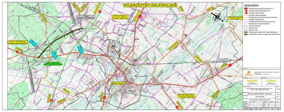I etap obwodnicy Kępna wciągu trasy S11 został oddany doruchu
