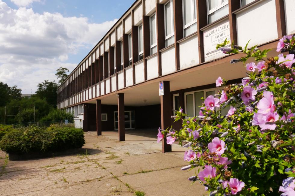 Protest wsprawie budynku po V Liceum na Gajowicach