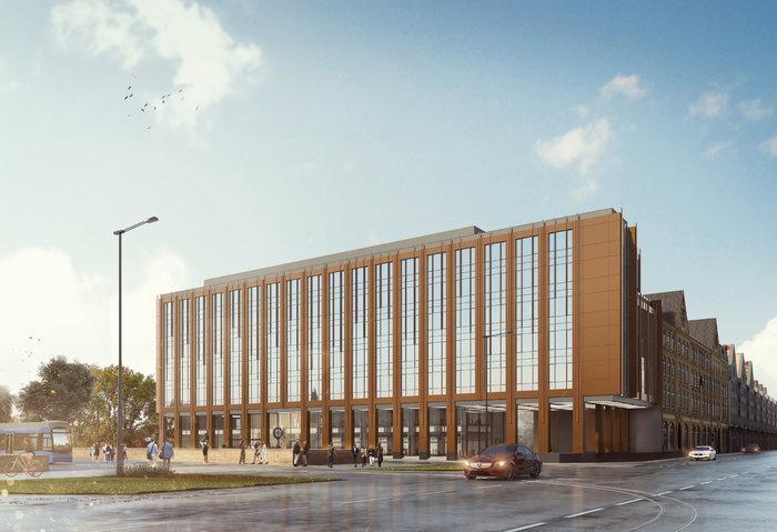 Nowy budynek PZU na pl. Dominikańskim