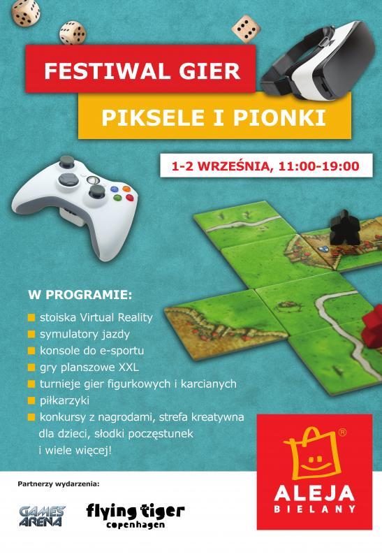 """Festiwal """"Piksele iPionki"""" wAlei Bielany"""