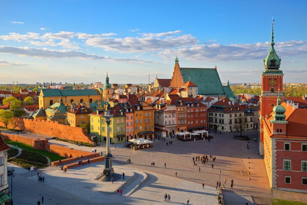 Wrocław – Warszawa trasa domiejsc wyjątkowych
