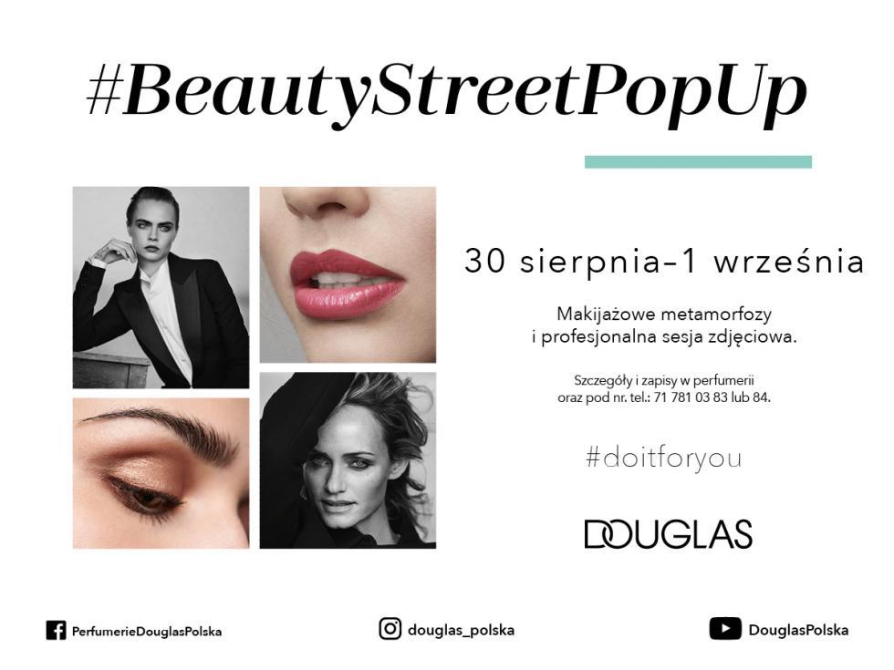 Douglas Beauty Street Pop Up wArkadach Wrocławskich