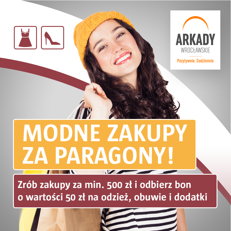 Wrześniowa promocja paragonowa wArkadach Wrocławskich