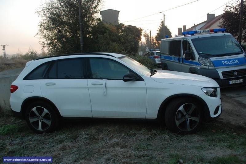 Odzyskali auto warte 265 tys. zł