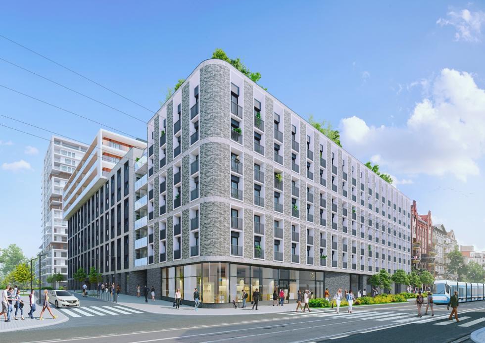Nowa inwestycja - Angel City Wrocław zpozwoleniem na budowę