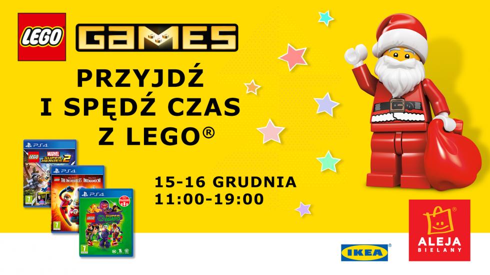 Świąteczna impreza LEGO wAlei Bielany